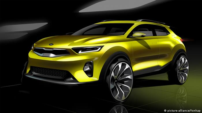 Kia Stonic SUV (picture-alliance/Yonhap)