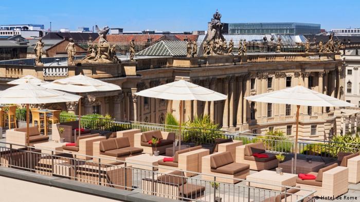 Über den Dächern von Berlin (Hotel de Rome)