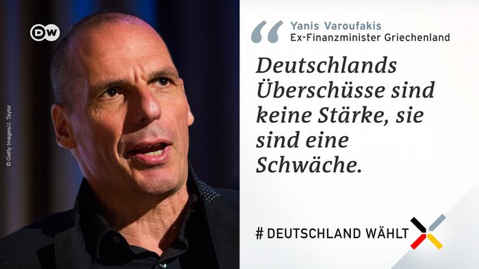 Deutschland wählt Gastkommentar Yanis Varoufakis
