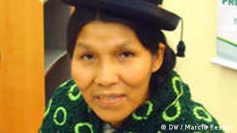 Teodora Hinojosa BioFach 2009 Ecuador