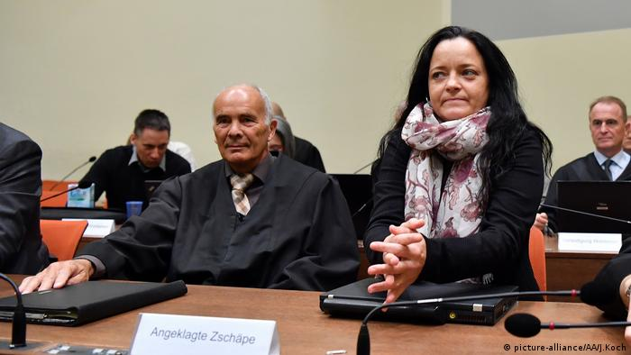 Beate Zschäpe at the NSU trial (picture-alliance/AA/J.Koch)