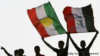 Flaggen Kurdistan Irak