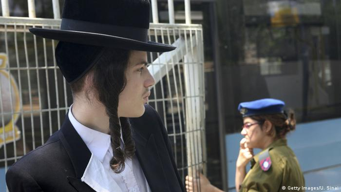 Israel Ultra-Orthodox Yeshiva Student Soldatin (Getty Images/U. Sinai)