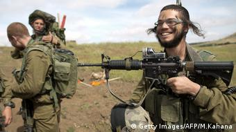 Israel Ultra-Orthodox Battalion Netzah Yehuda (Getty Images/AFP/M.Kahana)