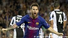 Champions League FC Barcelona v Juventus Messi