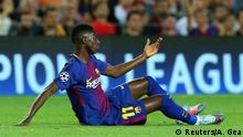 Champions League - FC Barcelona vs Juventus Dembele
