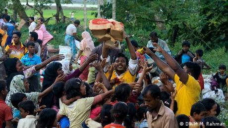 Rohingya Krise in Bangladesch (DW/M.M. Rahman)