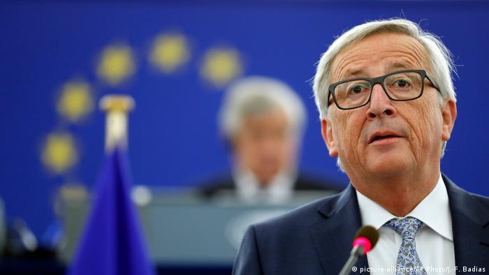 Straßburg Rede von Jean-Claude Juncker