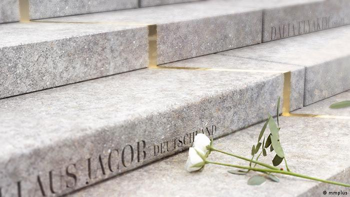 Goldener Riss - Mahnmal an die Toten des Anschlags vom Breitscheidplatz (mmplus)