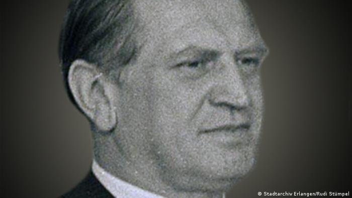Jurist Johannes Herrmann (Stadtarchiv Erlangen/Rudi Stümpel)