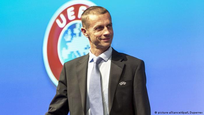 UEFA-Präsident Aleksander Ceferin (picture-alliance/dpa/L.Duperrex)
