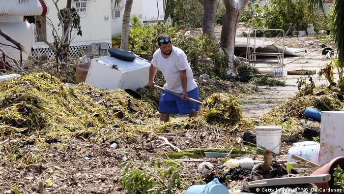 USA Florida Aufräumarbeiten nach Hurrikan Irma