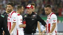 1. FC Köln - Hamburger SV 1:3 - Trainer Peter Stöger