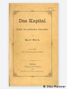 Buchcover - Karl Marx - Das Kapital (Otto-Meisner)