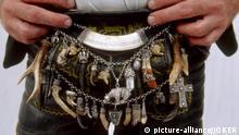 Lederhose Detail Tradition