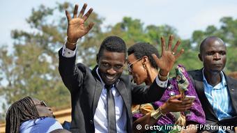 Uganda | Politiker und Musiker Robert Kyagulanyi Ssentamu aka Bobi Wine