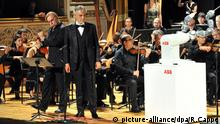 Pisa, Singing and Robotics Andrea Bocelli