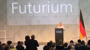 Deutschland Schlüsselübergabe Zukunftsmuseum Futurium in Berlin