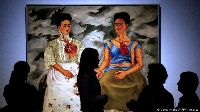 Frida Kahlo Gemälde Las Dos Fridas (Getty Images/AFP/A. Acosta)