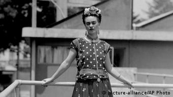 Frida Kahlo Porträt von 1939 (picture-alliance/AP Photo)