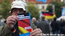 Deutschland AFD Wahlkampfveranstaltung in Magdeburg