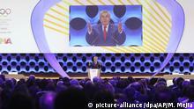 Peru Lima - IOC-Vollversammlung mit Thomas Bach