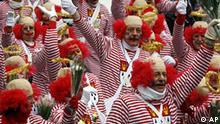 Deutschland Karneval Rosenmontag Köln