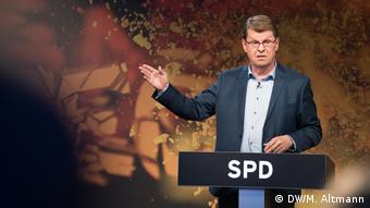 Ralf Stegner, vicepresidente del SPD.