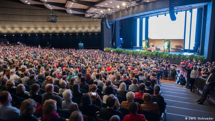 Deutschland Besuch des Dalai Lama in Frankfurt