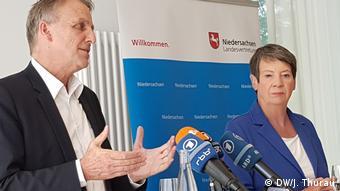 Ministri okoliša Barbara Hendricks i Stefan Wenzel