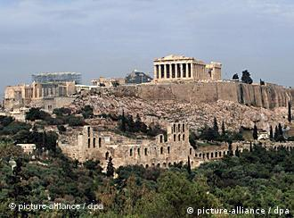 Die Akropolis in Athen (Foto: picture-alliance/dpa)