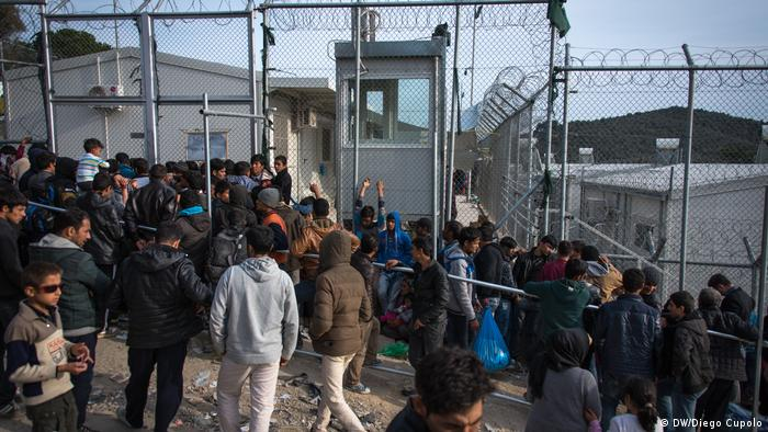 refugee arrivals in Greece