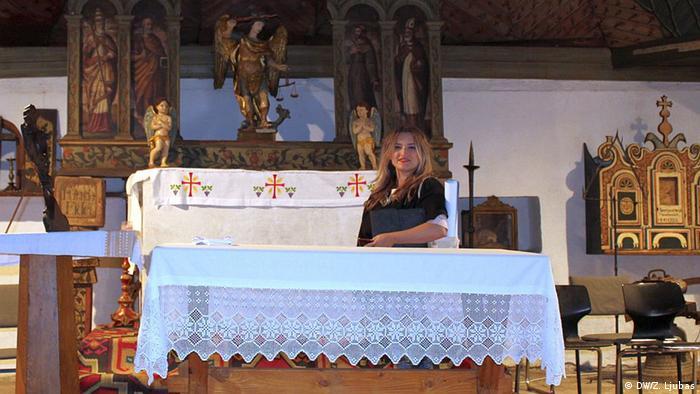 Glazba u staroj srednjovjekovnoj crkvi - Andrea Nikolić u crkvi sv. Mihovila u Varešu