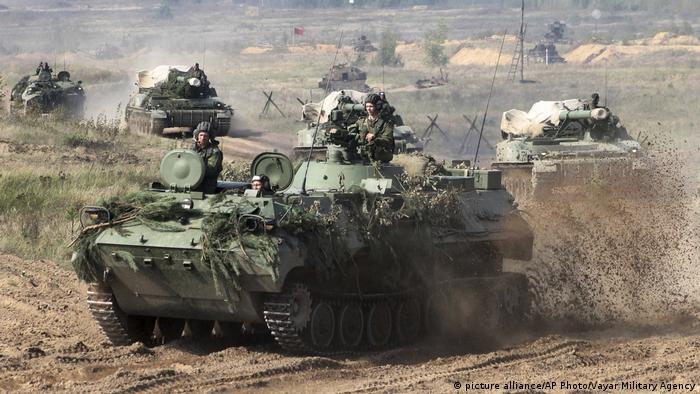 Russian military maneuver Sapad 2017
