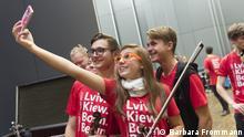 Generalprobe zum Campuskonzert des Beethovenfests und der Deutschen Welle