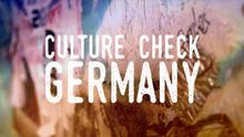 DW Culture Check Germany (Sendungslogo)