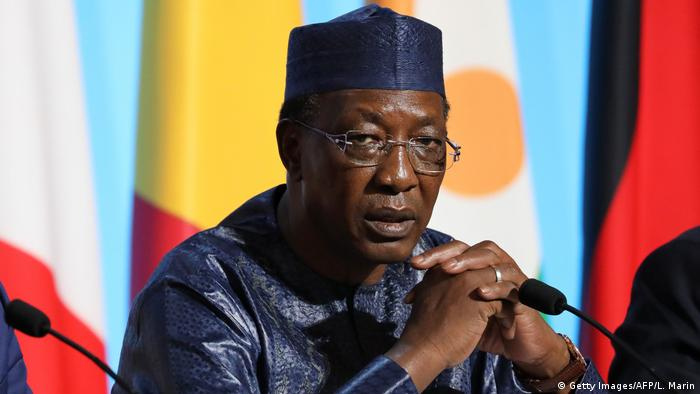 Tschad Präsident Idriss Deby (Getty Images/AFP/L. Marin)