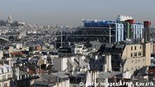Frankreich Centre Pompidou Paris von Renzo Piano
