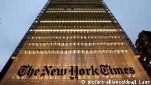 USA New York Times Hauptquartier von Renzo Piano