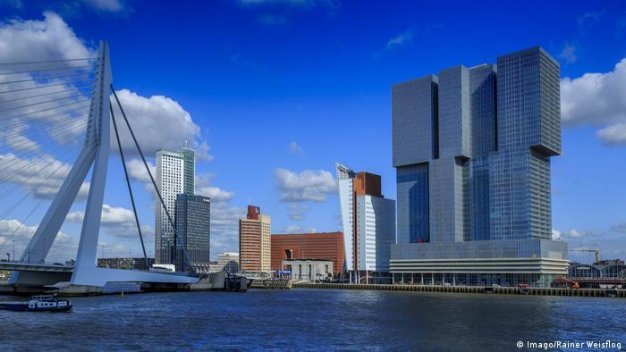 KPN Tower Rotterdam in Rotterdam von Renzo Piano