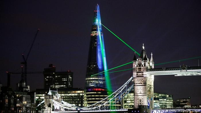 Großbritannien London Bridge Tower oder The Shard von Renzo Piano (Getty Images/M. Lloyd)