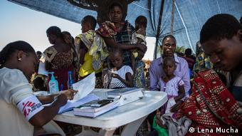 Kongo Vertriebene in Flüchtlingslagern