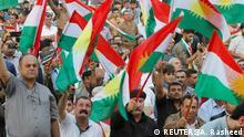 11.09.2017+++Kirkuk, Irak+++ People celebrate to show their support for the upcoming September 25th independence referendum in Kirkuk, Iraq September 11, 2017. REUTERS/Ako Rasheed