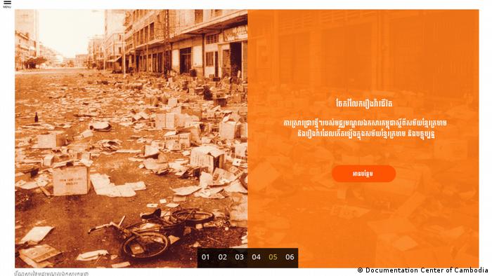 Dokumentation Verbrechen der Roten Khmer in Kambodscha