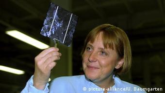 Η Άγκελα Μέρκελ το 2000
