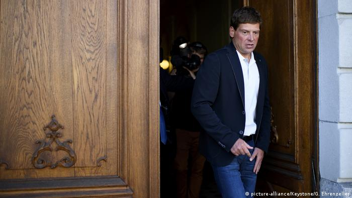 Schweiz Prozess Jan Ullrich in Thurgau (picture-alliance/Keystone/G. Ehrenzeller)
