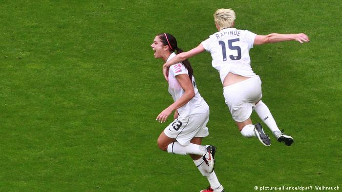 USA Fußball Megan Rapinoe & Alex Morgan