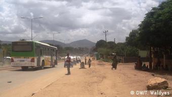 Äthiopien Stadt Jijiga (DW/T. Waldyes)