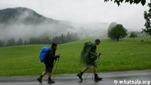 Photo: Hikers in the Alps (Source: Whatsalp)