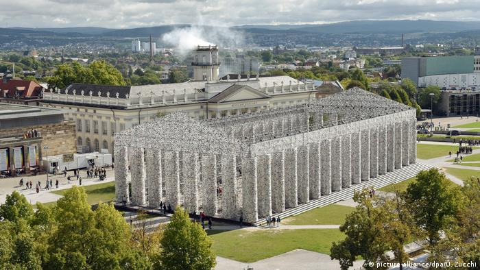 Deutschland | documenta14 | Parthenon of books (picture-alliance/dpa/U. Zucchi)